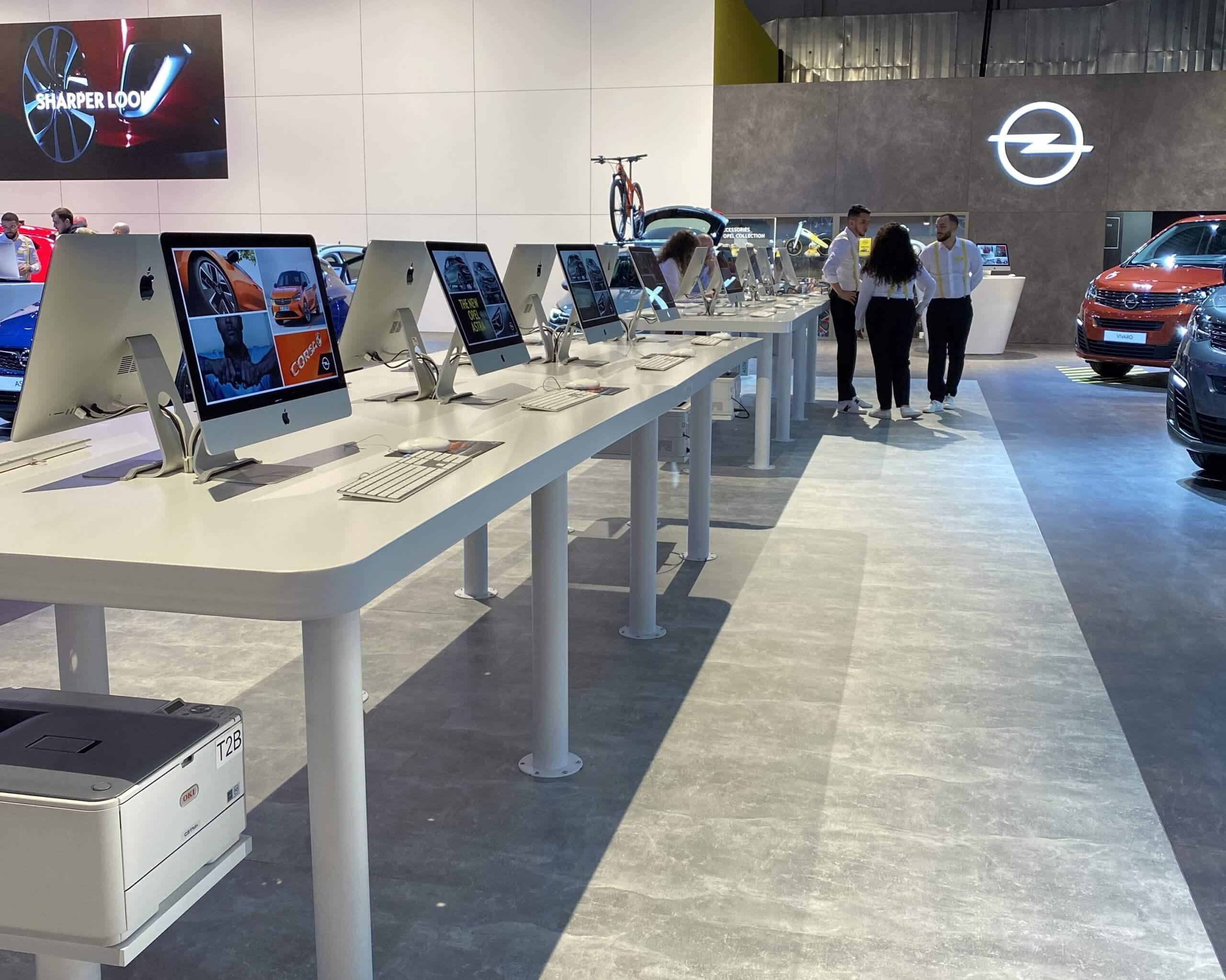 brussels motorshow opel corsa imac apple retail innovation