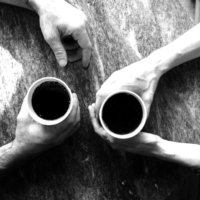 coffee cups hands meeting retail innovation